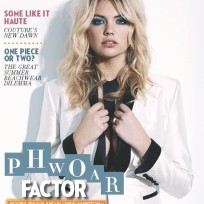 Kate Upton in The Sunday Times