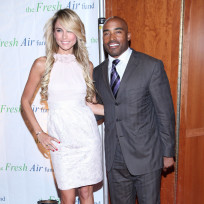 Tiki barber and traci lynn johnson