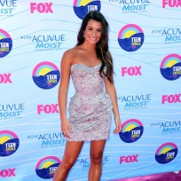 Who looked prettier at the Teen Choice Awards: Lea Michele or Lucy Hale?
