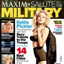 Kellie Picker Maxim Cover
