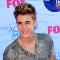 Justin bieber close up