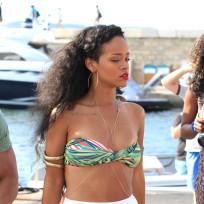 Rihanna in France