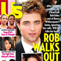 Robert Pattinson Walks Out