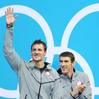 Ryan Lochte and Michael Phelps