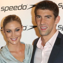 Megan-rossee-and-michael-phelps