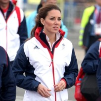 Kate Middleton Windbreaker