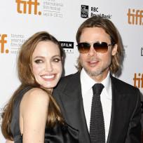Angelina Jolie and Brad Pitt Photo