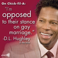 Dl hughley and chick fil a