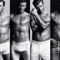 David Beckham Underwear Photos