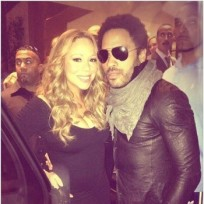 Mariah carey and lenny kravitz