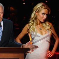 Clint eastwood paris hilton