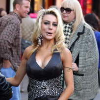 Courtney Stodden on the Street