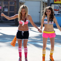 Ashley Tisdale and Sarah Hyland