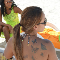 Evelyn Lozada Tattoos