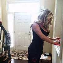Kim zolciak post baby body