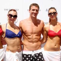 Ryan lochte bikini clad girls