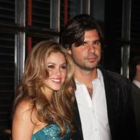 Shakira and antonio de la rua