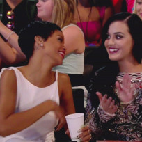 Katy and Rihanna