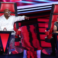 Cee Lo Green and Adam Levine