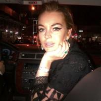 Lindsay Lohan Twitpic