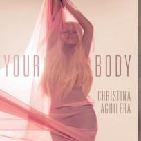 Christina Aguilera Single Art