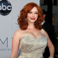 Whose cleavage at the 2012 Emmys was more impressive?
