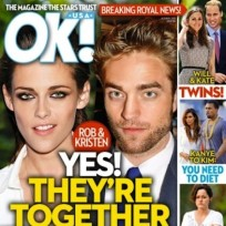 Robert pattinson and kristen stewart tabloid cover