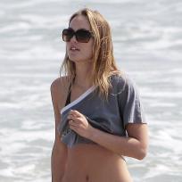 Leighton Meester in a Bikini
