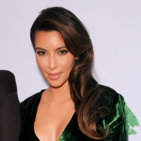 Kim-kardashian-green-dress