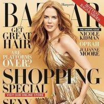 Nicole kidman harpers bazaar cover
