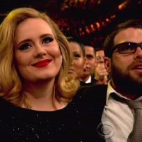 Simon Konecki and Adele