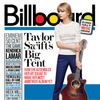 Taylor Swift Billboard Cover