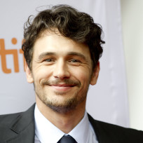 Smirking James Franco