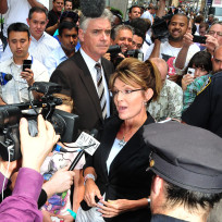 Sarah palin center of attention
