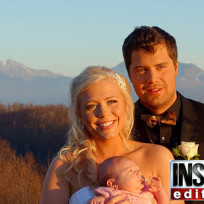 Levi Johnston, Sunny Oglesby Wedding Photo