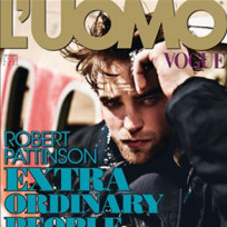 Robert Pattinson Italian Vogue Cover