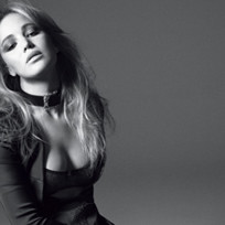 Jennifer lawrence in black and white