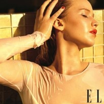 Jennifer Lawrence Elle Photo