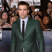 Robert Pattinson in Green