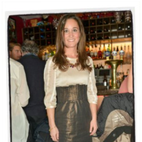 Pippa Middleton High-Waisted Skirt