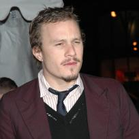 Heath ledger facial hair