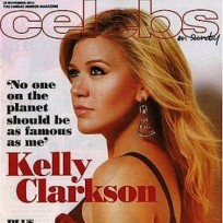 Kelly Clarkson Sunday Mirror Cover