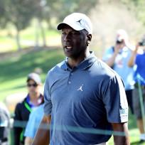 Michael Jordan Golfing
