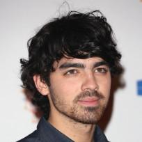 Joe Jonas with Facial Hair