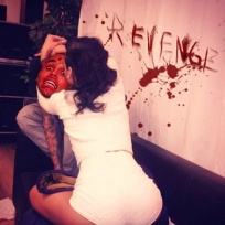 Rihanna-Chris Brown Pic Spoof