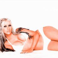 Christina Aguilera Bikini Picture