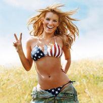 Jessica Simpson Bikini Shot