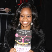 Gabby douglas gold medal photo