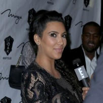 Kim Kardashian Interview Photo