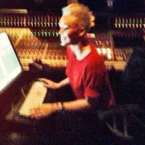 Miley Cyrus Studio Pic